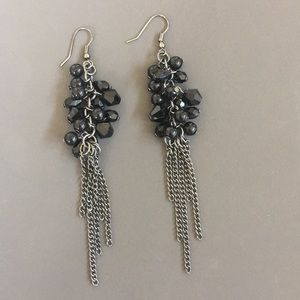 Dangling Chain Earrings